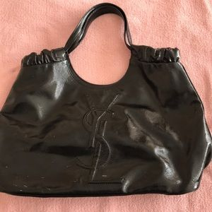 ‼️AUTHENTIC USED YSL PATENT BAG‼️